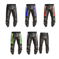 Leather Summer RST Motorcycle Trousers