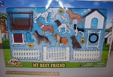 NEW RAY My Best Friend DELUXE Dog set.#2! Many Breeds with Massive accessories.