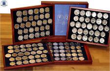 Completamente recopilación de todos 123 RDA conmemorativas monedas 5 mark, 10 Mark y 20 Mark