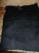 Men Ralph Lauren Polo Cargo GS Combat Pant 48X30 Polo Black Trousers Classic