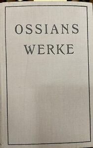 Ossians Werke Fingal und die Kleinen Epen, Ossian