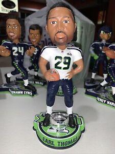 "Seattle Seahawks Earl Thomas 2014 Super Bowl XLVIII Champ 8"" Bobblehead FoCo"