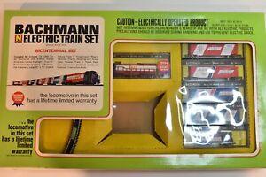 Bachmann 4375 Vintage Bicentennial N Scale Commemorative Electric Train Set