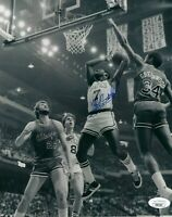 "Nate ""Tiny"" Archibald Signed Boston Celtics HOF 8x10 Photo W/ JSA COA"