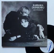 "LP 33T Barbara / Depardieu  ""Lily passion"" - (TB/EX)"