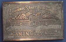 Colorado State Pen. Canon City belt buckle *[17181]