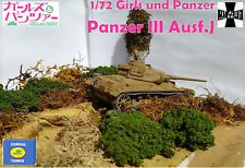 1/72 Girls und Panzer - Panzer III Ausf. J - Custom 6-in-1 model by Cereal Tanks