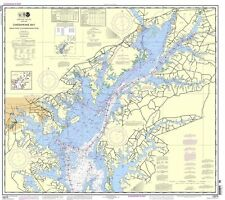 NOAA Chart Chesapeake Bay Sandy Point to Susquehanna River 59th Edition 12273