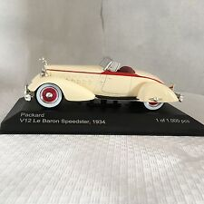 Packard v12 le baron speedster 1:43 whitebox NOUVEAU & OVP wb178
