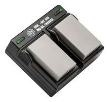 BM 2 Pack EN-EL9A Batteries & Dual Charger for Nikon D5000, D3000, D60, D40 D40X