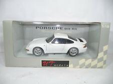 1996 PORSCHE 911 993 RS WHITE 1:18 UT-MODELS VERY RARE