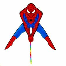 Spiderman Kite With Handle Single Line Nylon Children Adults Outdoor Flying Toys