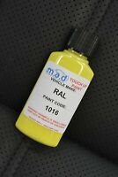 RAL 1016 SULFER YELLOW TOUCH UP KIT REPAIR KIT PAINT WITH BRUSH SCRATCH PAINT