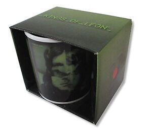 Kings Of Leon Only By The Night GREEN Ceramic Coffee Mug New Official NIB