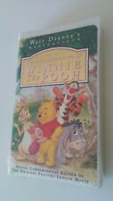 NEW! Sealed RARE VHS ORIGINAL Winnie Pooh - Walt Disney Masterpiece Collection
