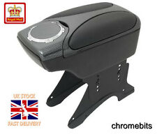 Carbon Armrest Arm Rest Console for FIAT BRAVO BRAVA GRANDE PUNTO 500 ALBEA New