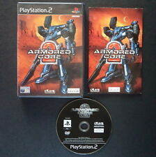ARMORED CORE 2 PlayStation 2 UK PAL English・♔・SHOOTER FROM SOFTWARE complete PS2