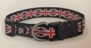 Union Jack Dog Collar / Lead - Various sizes available