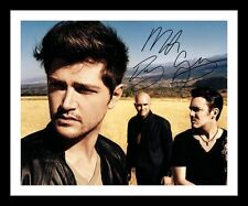 THE SCRIPT AUTOGRAPHED SIGNED & FRAMED PP POSTER PHOTO 3