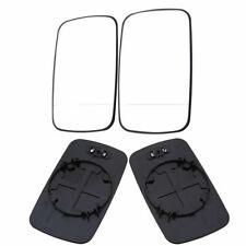 Pair Side Mirror Glass Fit For BMW E39/E46 320i 330i 325i 525i Heated Base LH+RH