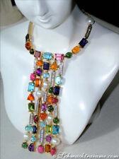 UNÜBERSEHBAR: Grandioses Multicolor Edelstein Collier 66,70 ct.GG750 ab 47.400€
