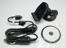 Garmin NUVI 750 755T 760 765T GPS Suction Cup Dash Mount Cradle Car Charger Kit