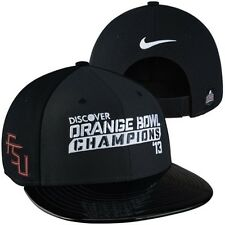 Florida State Seminoles 2013 Orange Bowl Champions Snapback hat Nike NWT Noles