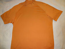 Izod X.F.G. Dry Fit Mens Shirt Size Xl X-Large Short Sleeve Orange Golf Golfing