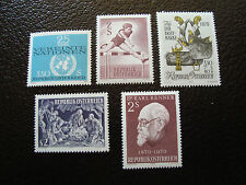 AUTRICHE - timbre - yvert et tellier n° 1176 a 1180 n** - stamp austria (A3)