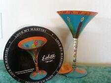 "LOLITA ""30 ISH""MARTINI GLASS ~LOVE MY MARTINI COLLECTION ~ NIOB"