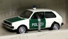 BUB 1/87 Tiny Scale - 08805 VW Golf Mk1 Polizei Police Diecast Model car