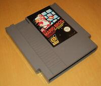 Nintendo NES 1980s Super Mario Bros PAL-A UKV SMB brothers game luigi original 7