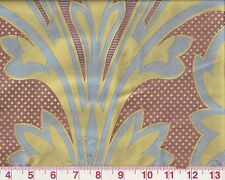 Silk Drapery Upholstery Fabric Clarence House R$338/y Louis-Phillippe Document