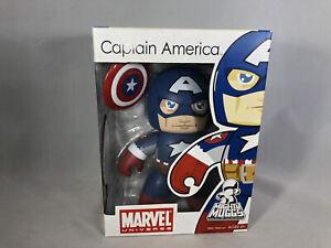 Captain America Mighty Muggs Figure 2008 Marvel Universe New In Box
