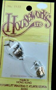 Houseworks 1122 Dollhouse Miniature Butt Door Hinges 1:12 scale