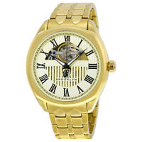 Brooklyn Dunham Skeleton Men's Automatic Ivory Dial Men's Watch