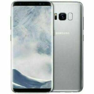 Samsung Galaxy S8 64GB DS Argent parfait état Reconditionné A.A99