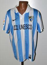 MALAGA SPAIN 2013/2014 HOME FOOTBALL SHIRT JERSEY NIKE SIZE XL ADULT