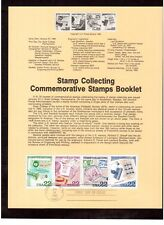 FDC stamp  # 2198-2201 22 cent Stamp Collecting 1986 USPS Souvenir Page