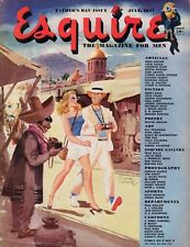 1947 Esquire July - Jones Beach;Bullfighting;Carole Landis;Ray Prohaska;Virginia