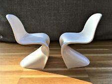 2 Stühle * 1:6 * Panton-Style *