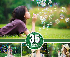 35 soap air bubble photo Overlays, Photoshop Overlay, Photo Prop, jpg file