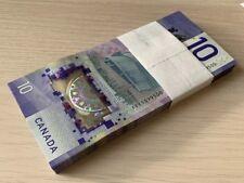 🇨🇦🇨🇦 CANADA 2018 $10 POLYMER BANKNOTE BILL VIOLA DESMOND VERTICAL- FTY - UNC
