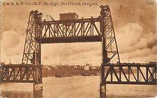 Br53554 Oregon Portland Bridge Oregon Usa