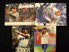2016 TOPPS UPDATE 4 COMPLETE INSERT SETS FRANKLIN/FIRE/3,000 HIT CLUB/FIRST PITC