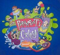 1997 Nickelodeon Rugrats, Real Monsters, Ren & Stimpy, Rocko Vintage T-shirt