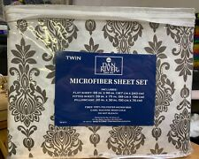 Dan River 3 Piece Microfiber Twin Sheet Set - New!