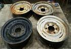 4-15 X 5.5 Chevrolet Truck Steel 6 Lug Wheels Rims 1964 1965 1966