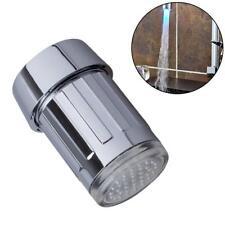 Glow LED Faucet Temperature Sensor Light RGB Shower Kitchen Water Tap 37 Color