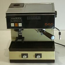 MACINA & MACCHINA CAFFE' CAPPUCCINO SUPER QUICK MILL 0825 VINTAGE arrarex faema